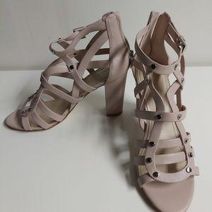 MARC FISHER light pink heels